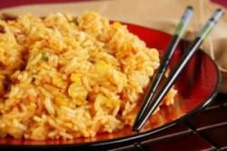 طرز پخت برنج سرخ شده چینی