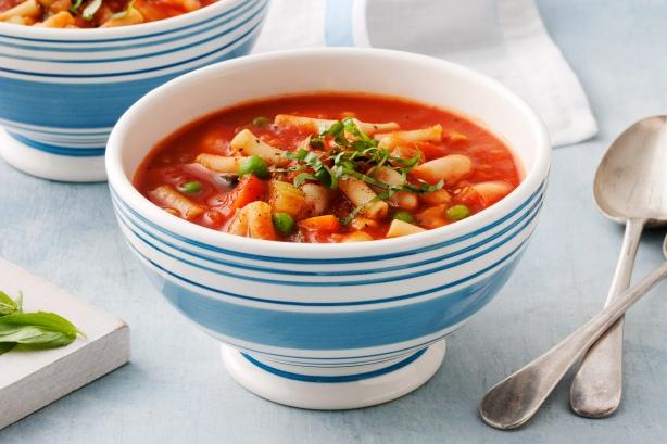 طرز تهیه سوپ ماکارونی خوشمزه