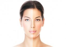 برنزه کردن صورت Tan-Face
