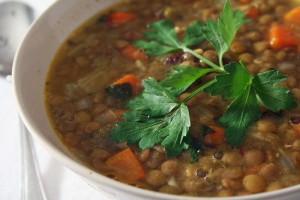 طرز تهیه سوپ عدس
