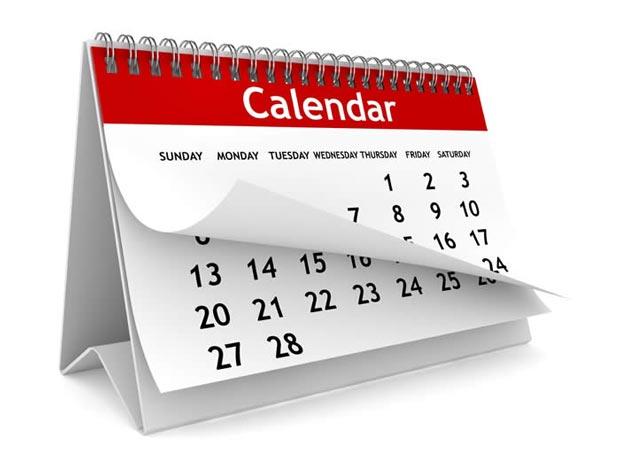 تقویم calendar