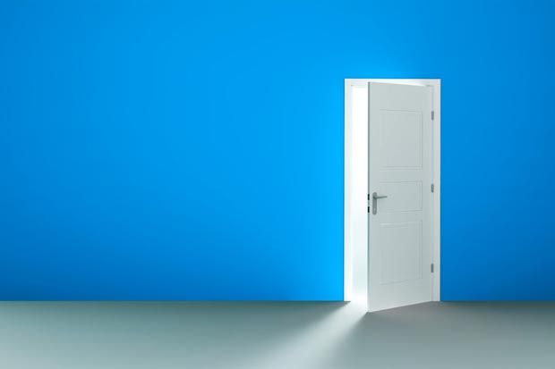در door