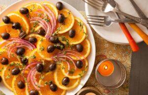 سس سالاد مراکشی خوشمزه