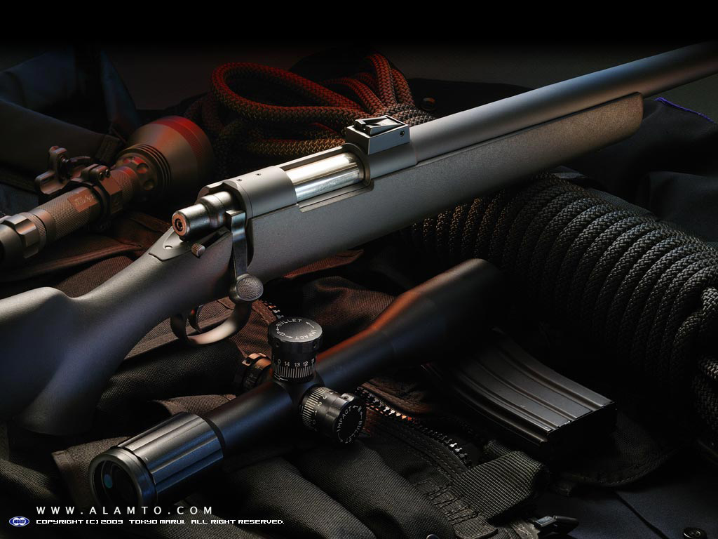 والپیپرهای فوق العاده زیبا از تفنگ های مدرن