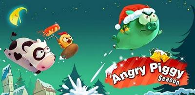 بازی جدید آندروید Angry Piggy Seasons v1.0.5