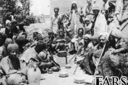 تصویری از قدیمی ترین تجمع معتادان ایرانی در زمان قاجار