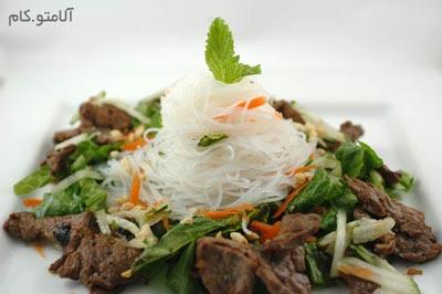 Beef Noodles Salad
