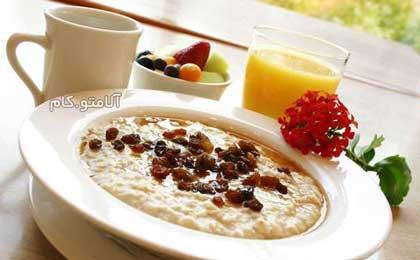 اهمیت خوردن صبحانه
