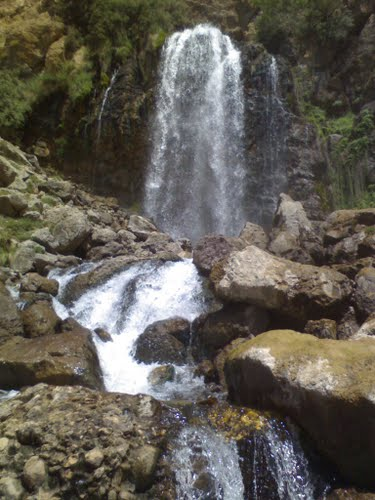 عکس آبشار چکان