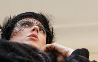 عکس جدید لیلا حاتمی در فیلم پله آخر