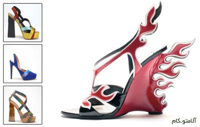 مدل جدید کفش های زنانه - بهار 2012