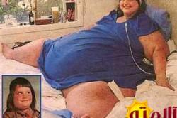 سنگین ترین زن جهان در کل تاریخ؛ 727 کیلوگرم!! + عکس