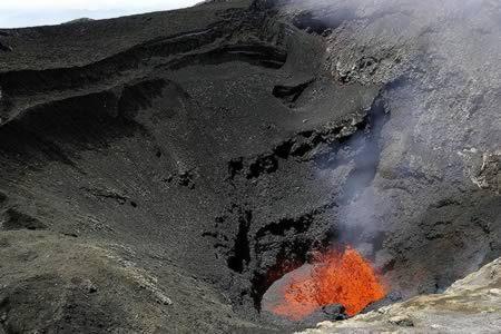 پرتاب به درون آتشفشان با طناب فنری، شیلی