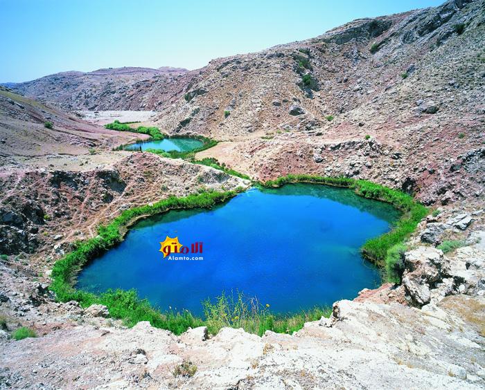 عکس دریاچه مشکی گاو آبدانان