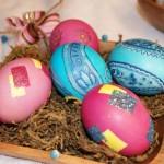 عکس تخم مرغ رنگی سفره هفت سین