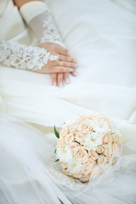 دسته گلای عروسی