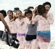 تمرین های سخت زنان چینی برای بادیگارد شدن