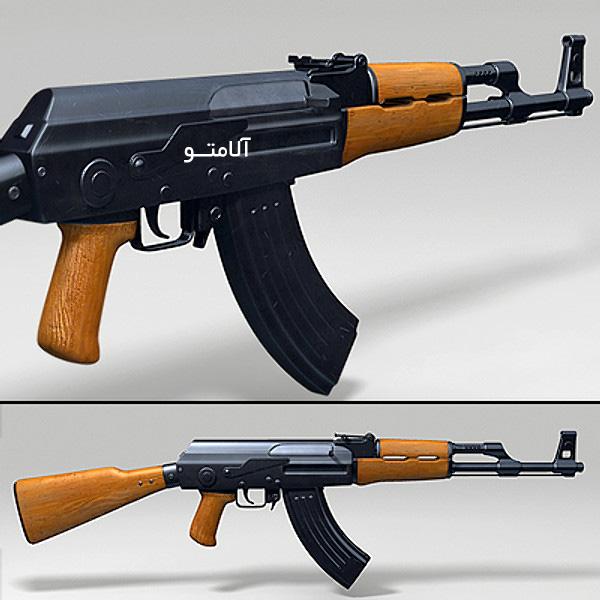تفنگ جنگی,AK