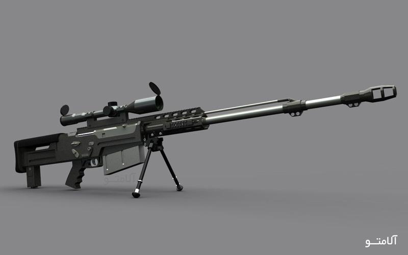 تفنگ جنگی,تک تیرانداز AS 50