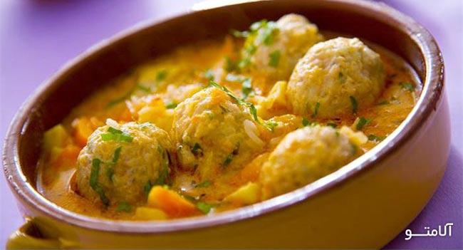 آشپزی- کوفته بلغاری