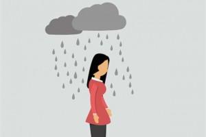 افسردگی Depressed-Woman
