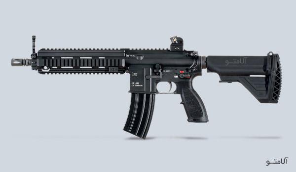 عکس سلاح HK 416
