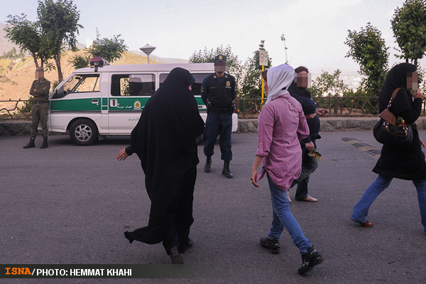 طرح برخورد با بد حجابی