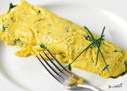 Lentil-Omelette