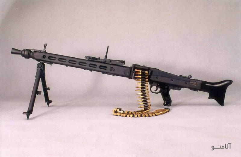 تفنگ جنگی,تیربار MG3