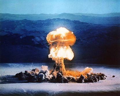 آزمایشات هسته ای