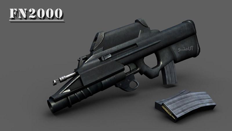 تفنگ جنگی,عکس FN2000