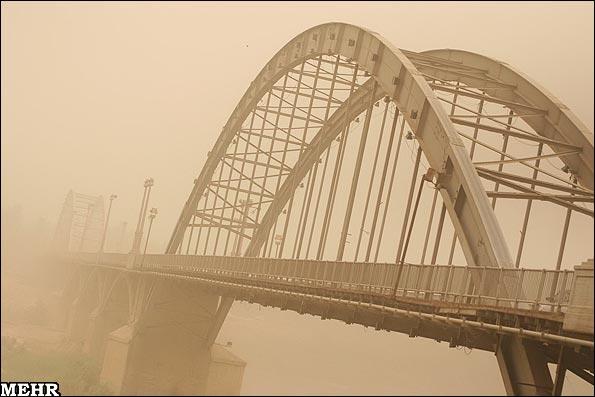 گرد و غبار در اهواز
