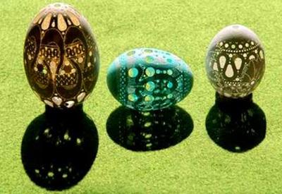 هنر تخم مرغ