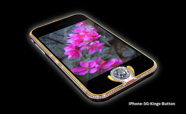 iPhone King button - گرانترین گوشی موبایل جهان را بشناسید! 11 گرانقیمت ترین گوشی های دنیا