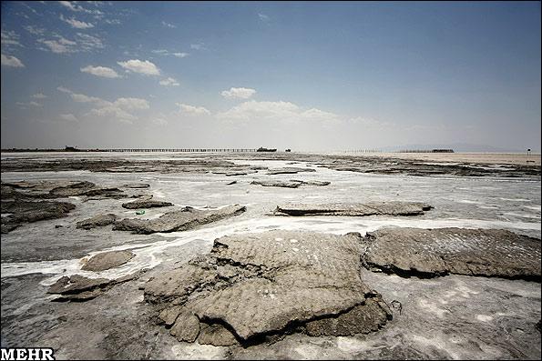 خشکسالی دریاچه ارومیه