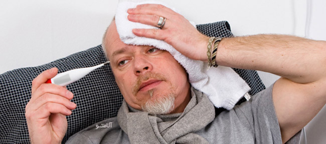 sick-man-temp,سیروز کبدی و ماه رمضان
