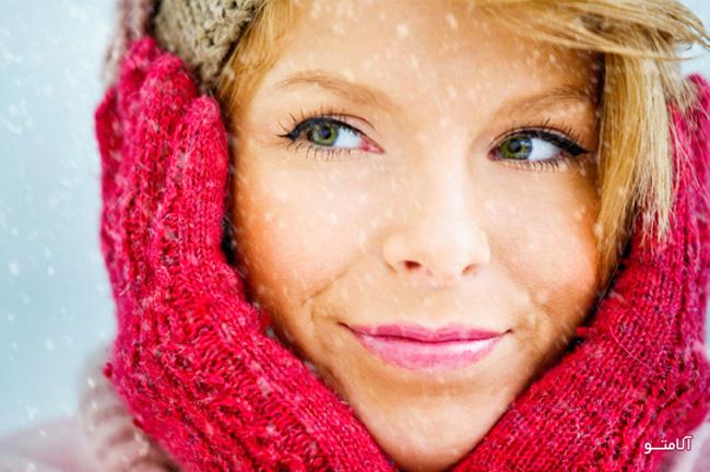 سلامت و زیبایی پوست در زمستان