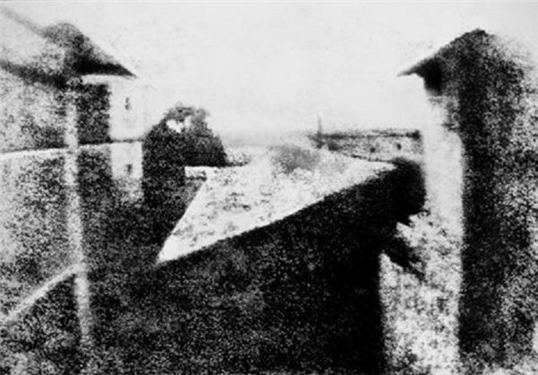 اولین عکس سیاه و سفید تاریخ