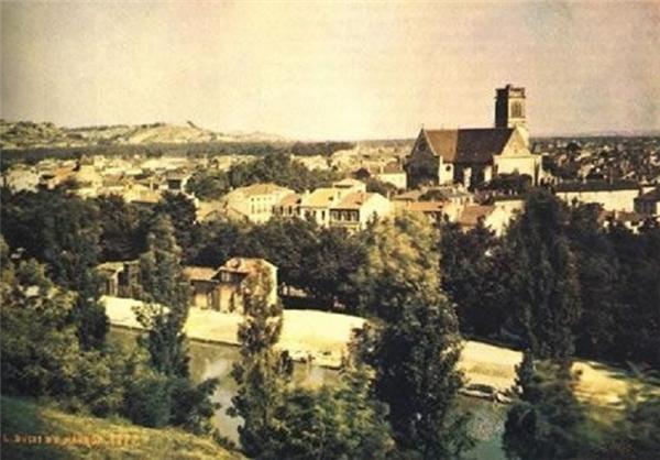 اولین عکس رنگی تاریخ