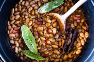 خوراک لوبیا چیتی مکزیکی