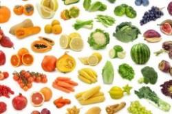 تاثیر رنگ مواد غذایی در تناسب اندام و زیبایی