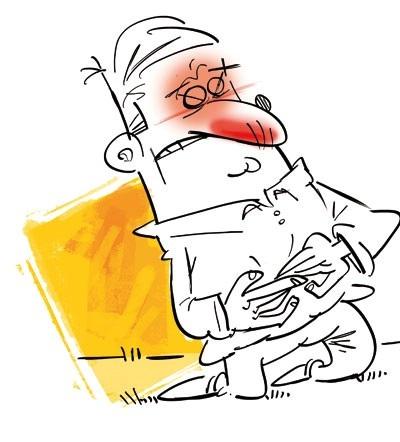 علائم آپاندیس در بزرگسالان چیست؟ نشانه های اپاندیس