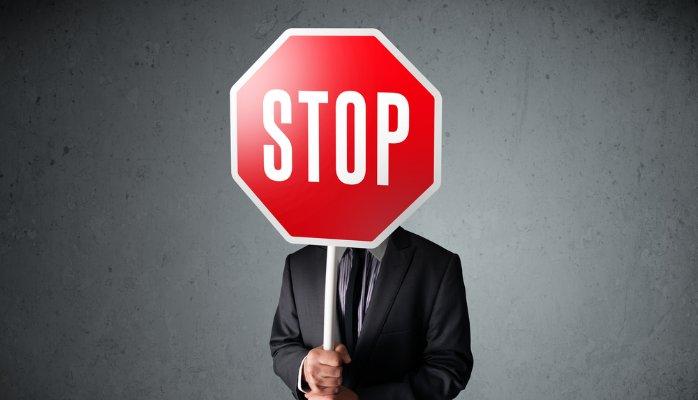 مرز شخصی stop