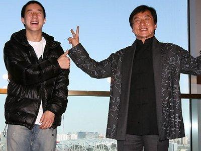 جکی چان و پسرش