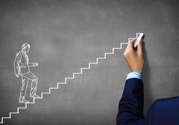 پله موفقیت stairs-success