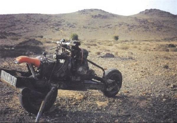 مردی که از ژیان موتور ساخت