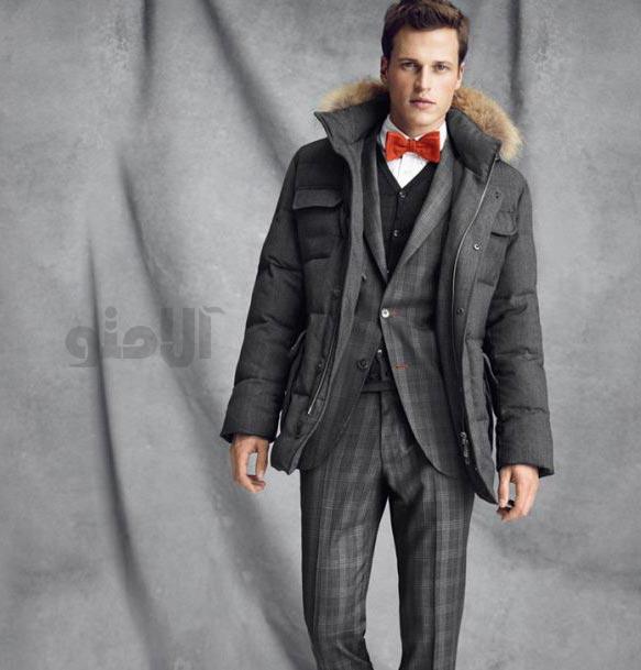 لباس زمستانی مردانه 2013