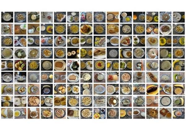 یک سال صبحانه + عکس