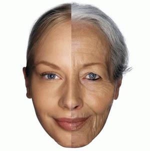 نشانه های پیری زودرس پوست