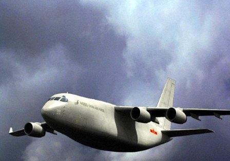 چینی ها هواپیمای باربری ساختند + عکس
